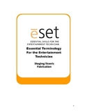 eSET: Stage and Scenic Construction