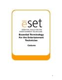 eSET: Theatre Costume Terminology