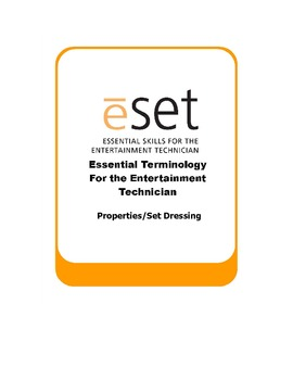 eSET: Theatre Props and Set Dressing