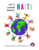 eWorkbook: Let's Learn About HAITI, bilingual digital tool kit