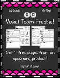 ea Vowel Team Freebie!