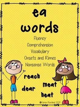 ea words - fluency and comprehension
