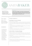 """Resume Template 6pack 