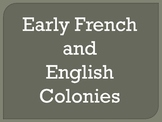 early french and english colonies
