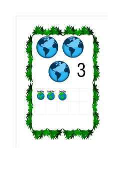 earth day 10 frame counting