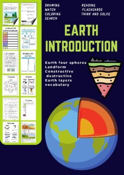 earth spheres worksheets