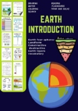 earth spheres worksheets with digital tpt activity