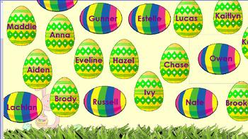 easter egg hide attendance