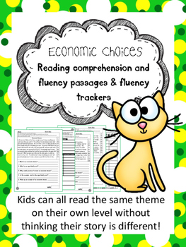 economic choices fluency and comprehension leveled passage