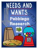 economics: needs and wants {pebblego research}