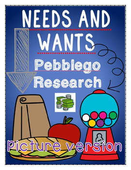 economics: needs and wants {pebblego research} [picture version]