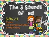 ed Suffix: The Three Sounds of -ed