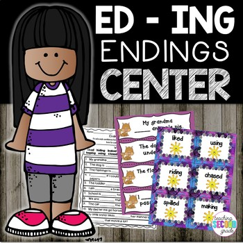 ed and ing endings