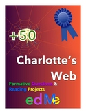edMe Projects & Questions for Charlotte's Web