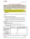 edTPA 2018-9: Portfolio reviewer advice for Literacy Elementary Education Task 2