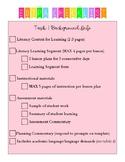 edTPA Checklist!
