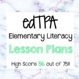 edTPA Elementary Literacy Lesson Plans- Task 1