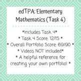 edTPA: Elementary Mathematics (Task 4)