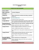 edTPA Language Arts Vocabulary Lesson