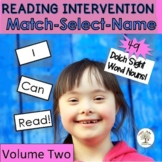 Dolch Nouns V2-READING INTERVENTION (Down Syndrome, specia