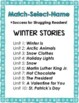 Winter, Reading Intervention, MATCH-SELECT-NAME (Down Syndrome, special ed.)