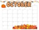 editable 2017-2018 calendars