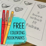 Self Esteem Coloring Bookmarks