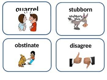 editable I Wanna an Iguana amazing and vocabulary cards