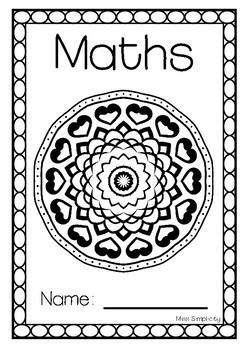 editable MANDALA book covers - 8 designs