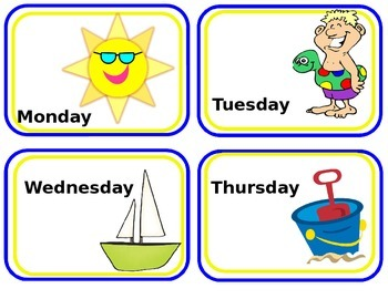 editable beach themed classroom labels