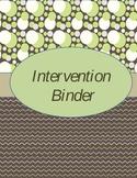 editable binder cover