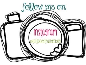 editable instagram button for your blog website