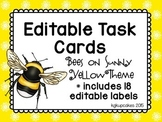 editable task cards and labels_bee theme plus bonus