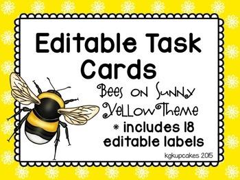editable task cards and labels_bee theme plus bonus