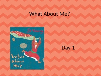 editable what about me powerpoint and interactive notebook