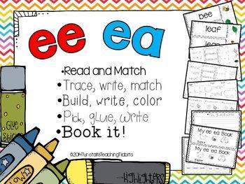 ee and ea - 5 Interactive Activities