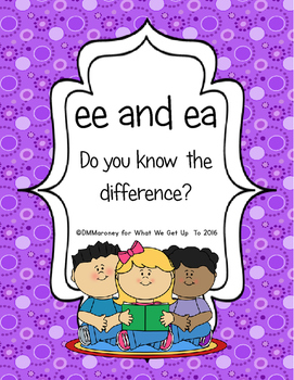 ee and ea: Do You Know the Difference?