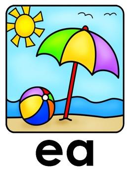 ee and ea Word Sorts