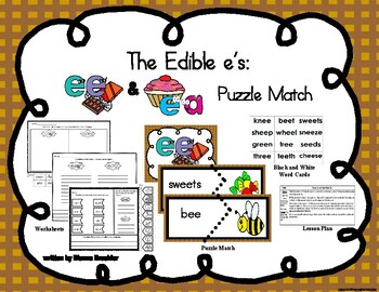 ee ea puzzle word match
