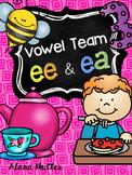 ee, ea vowel team