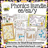 ee ea y Activities- The Big Phonics Bundle