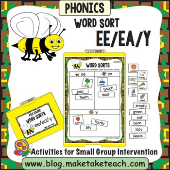 ee ea y Word Sort - File Folder Word Sorts