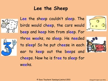 ee phonics lesson plans, worksheets and other teaching resources