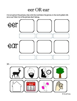 eer-ear sort