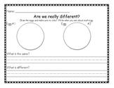 egg experiment comparison