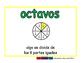 eighths/octavos meas 2-way blue/verde