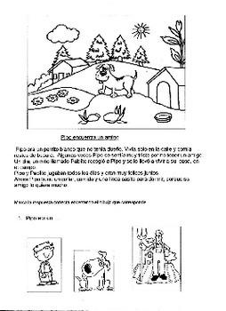 ejercicios de lectura comprensiva en español