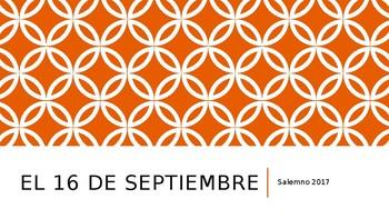 el 16 de Septiembre - culture powerpoint presentation