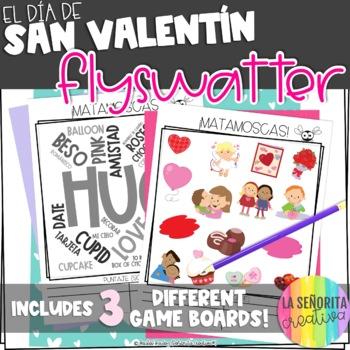 el Día de San Valentín Matamoscas Game - Valentine's Day Flyswatter