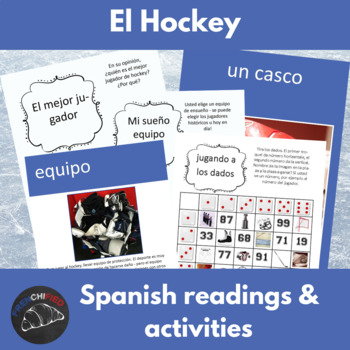 el Hockey - a reading & activity unit for Spanish learners